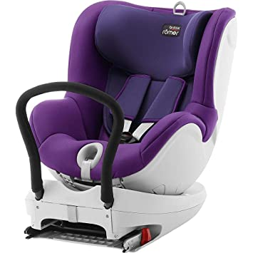 Römer Dual Fix, Silla de coche grupo 0+/1 Isofix, púrpura (Mineral Purple): Amazon.es: Bebé