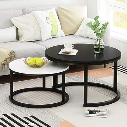 Admirable Amazon Com Coffee Table Set Of 2 Stackable Side Tables For Inzonedesignstudio Interior Chair Design Inzonedesignstudiocom