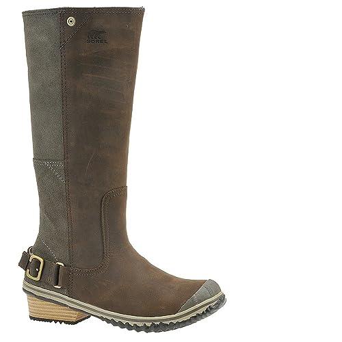 a69cb89b2fe Sorel Slimboot Boot - Women s Alpine Tundra Verdant 9.5  Amazon.ca ...