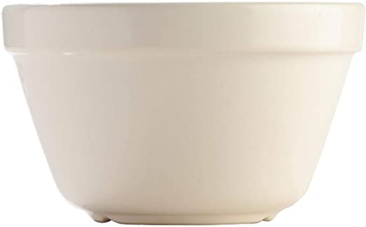 Amazon Com Mason Cash S36 White Original Pudding Basin 0 95 Quart Mixing Bowls Kitchen Dining
