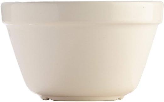 Amazon Com Mason Cash S36 White Original Pudding Basin 0 95 Quart Mixing Bowls Kitchen Dining