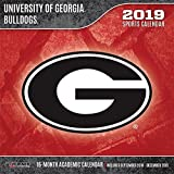 University of Georgia Bulldogs 2019 Calendar