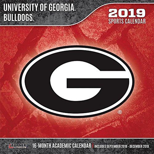 University Bulldogs Football - University of Georgia Bulldogs 2019 Calendar