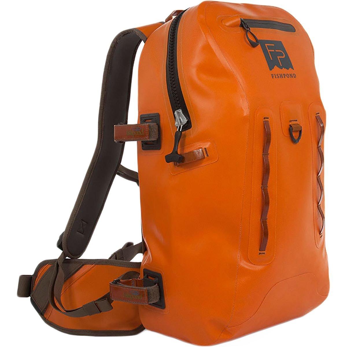 フィッシュポンド社製 サンダーヘッド 完全防水バックパック 色:オレンジ Fishpond Fly Fishing Thunderhead Submersible Nylon Waterproof Backpack   B076R5P44D