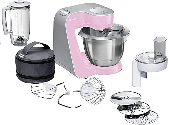 Bosch CreationLine MUM58K20 - Robot de cocina, 1000 W, recipiente ...