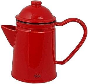 Zuperzozial C1201450 - Tetera, color rojo