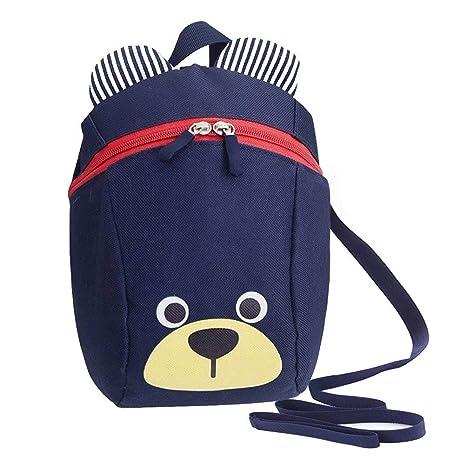 801033733306 MiniGreen 3D Cartoon Kids Harness Backpack
