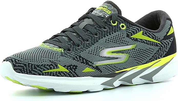 Skechersgo MEB Speed 3 2016 - Zapatillas de Running Hombre, Color Gris, Talla 40: Amazon.es: Zapatos y complementos