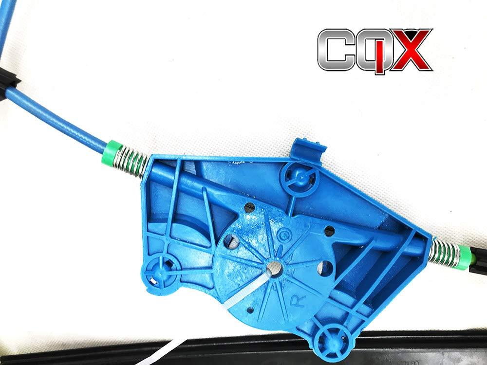 MECANISME LEVE VITRE GLACE ELECTRIQUE AVANT DROIT Audi A4=00-08 B6//B7 8E0837462