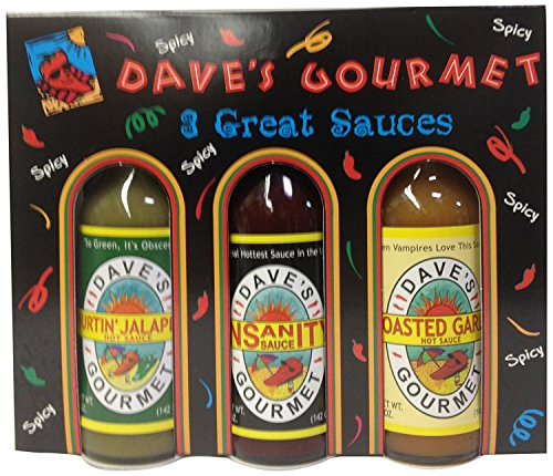 Dave's Gourmet Hot Sauce Variety Pack, 6 Count