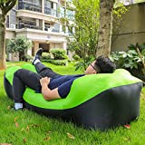 Inflatable Lounger Air Sofa Chair with Neck