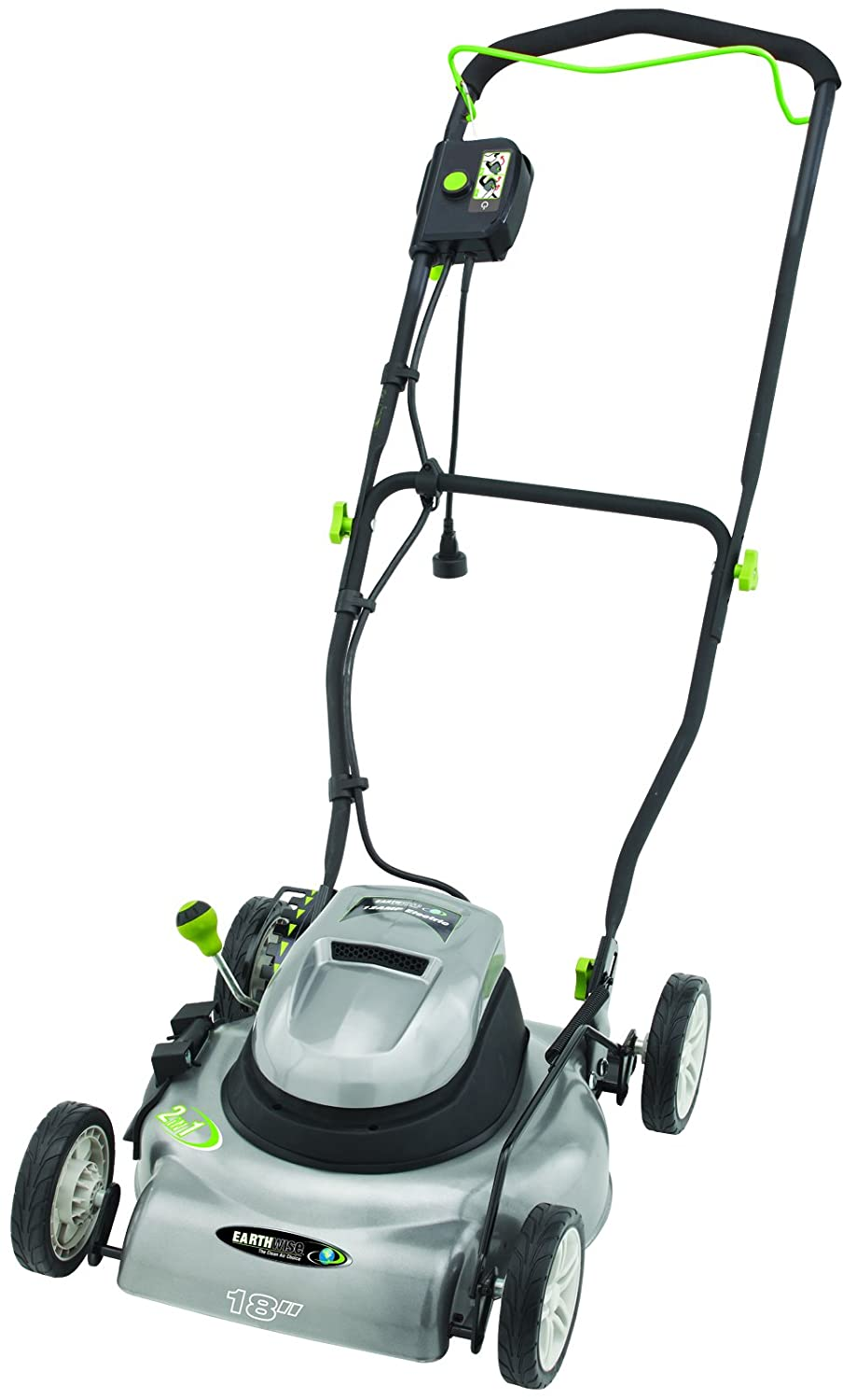 Earthwise 50518 18 Inch Corded Electric Lawn Mower Pressure Washer Wiring Diagrams Garden Outdoor
