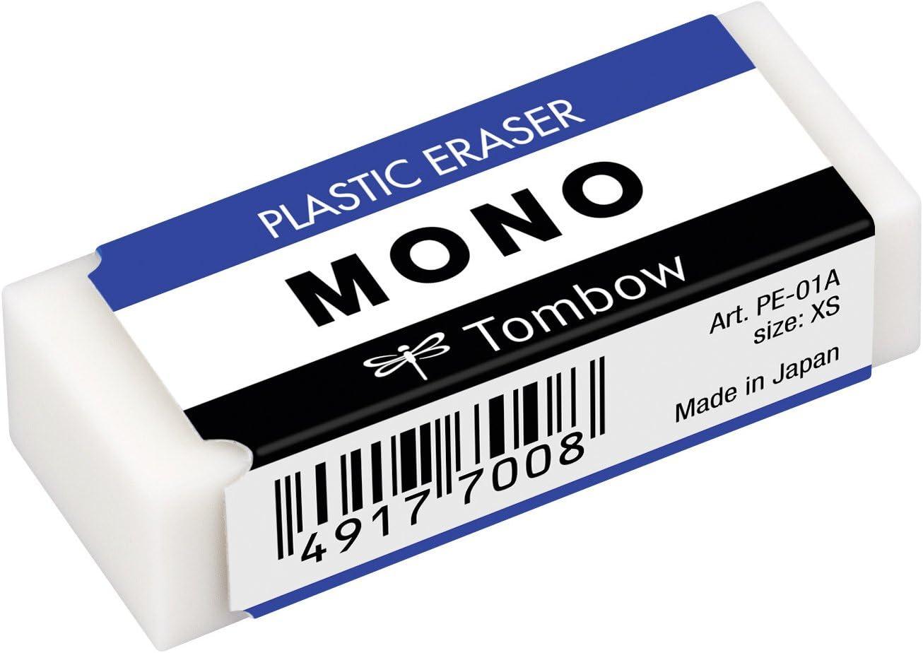 Format Economique 8 2 gratuites Tombow PE-01A-10P Gomme Mono XS