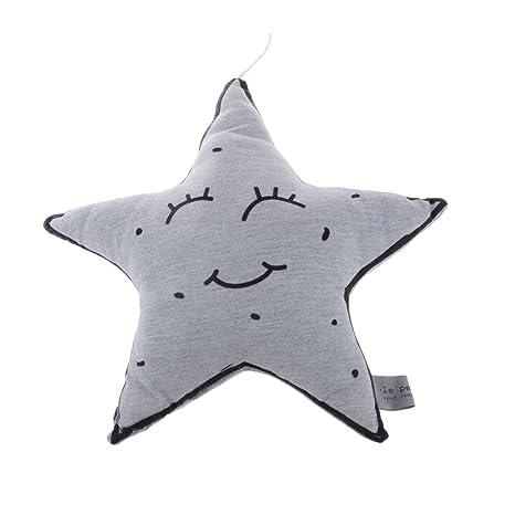 Juguete Decoración Cojín Luminoso Bebé por la Noche Apaciguar - Estrella