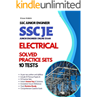10 Practice Sets – SSC JE Electrical – 2nd Edition