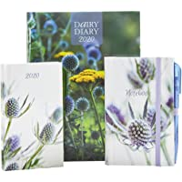 2020 Dairy Diary Set 2020: A British icon - Dairy Diary has been used by millions since its launch. This Set is practical and pretty, comprising: A5 ... Diary with pen plus a Notebook with pen.