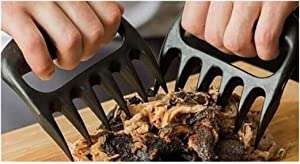 2PCs BBQ Meat Claw Pulled Pork Turkey Shredder Claws Bear Claws for Barbecue Picnic