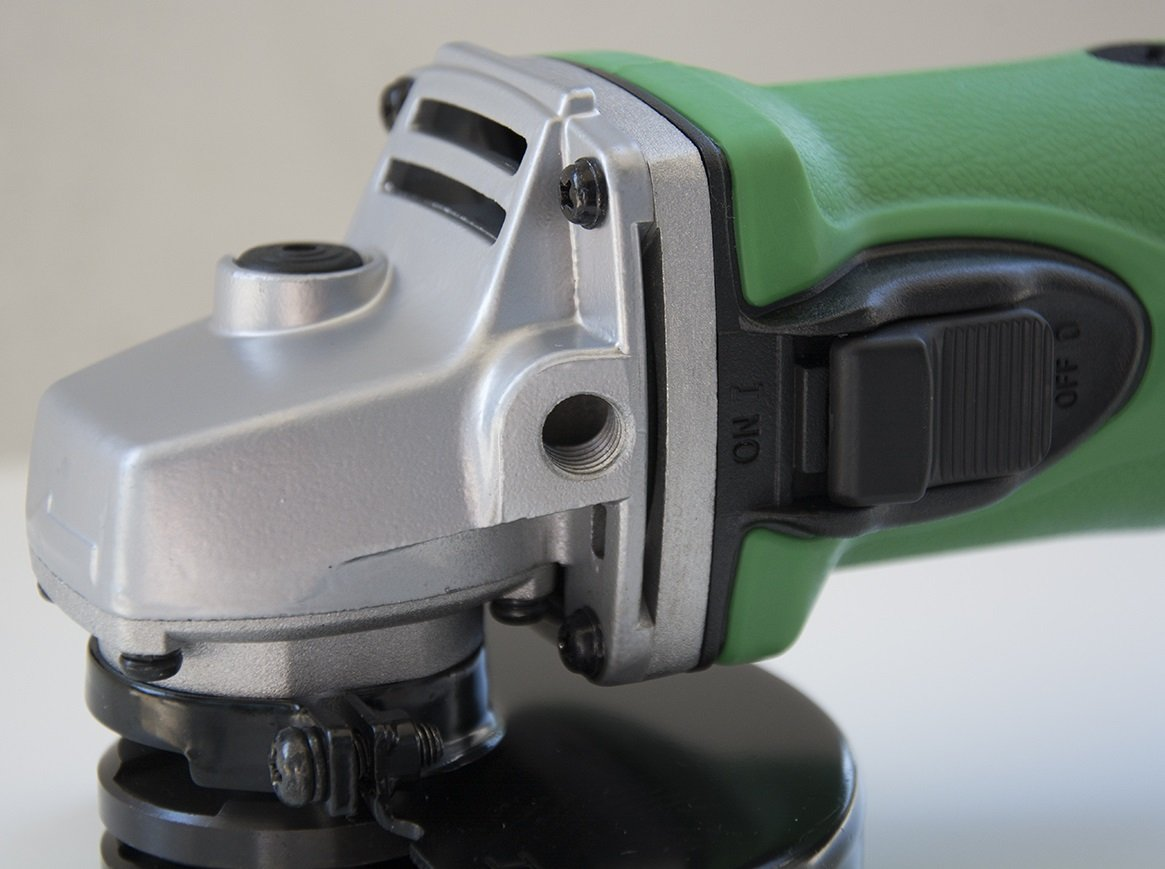 Hitachi G18dslp4 18v Lithium Ion 4 1 2 Angle Grinder Tool Only No Cordless Disc 115 Mm G 18dl Battery Power Grinders