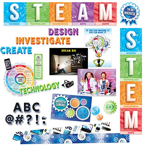 STEM Collection Classroom Decor Kit by Creative Teaching Press