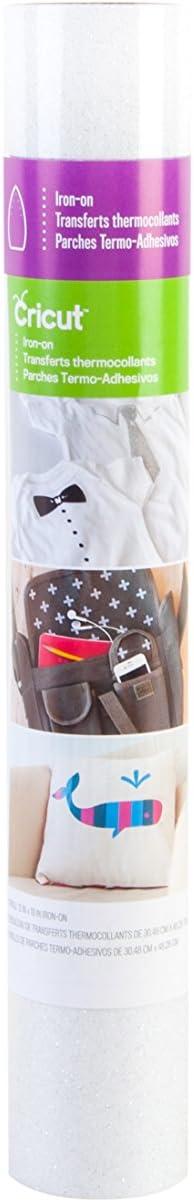 Cricut Iron on Glitter, White: Arts, Crafts & Sewing