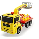 """Dickie Toys Air Pump Action Cherry Picker Truck, 11"""""""