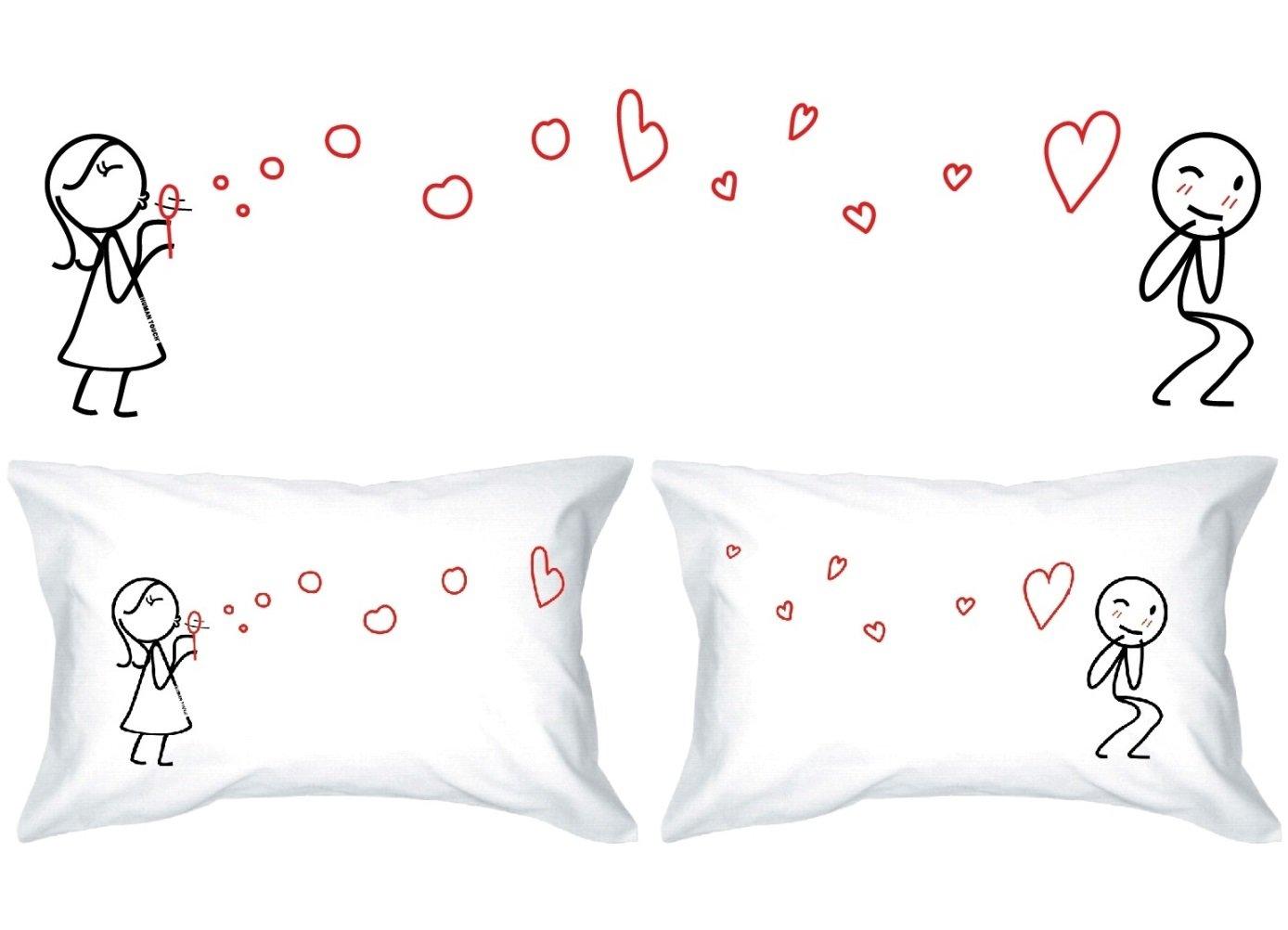 Favori Human Touch - Federe copricuscino per lui e per lei, idea regalo  GZ57