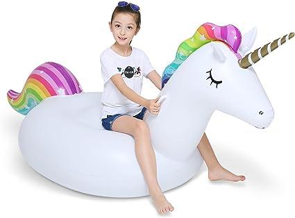 Amazon.com: Jasonwell - Flotador inflable gigante de ...