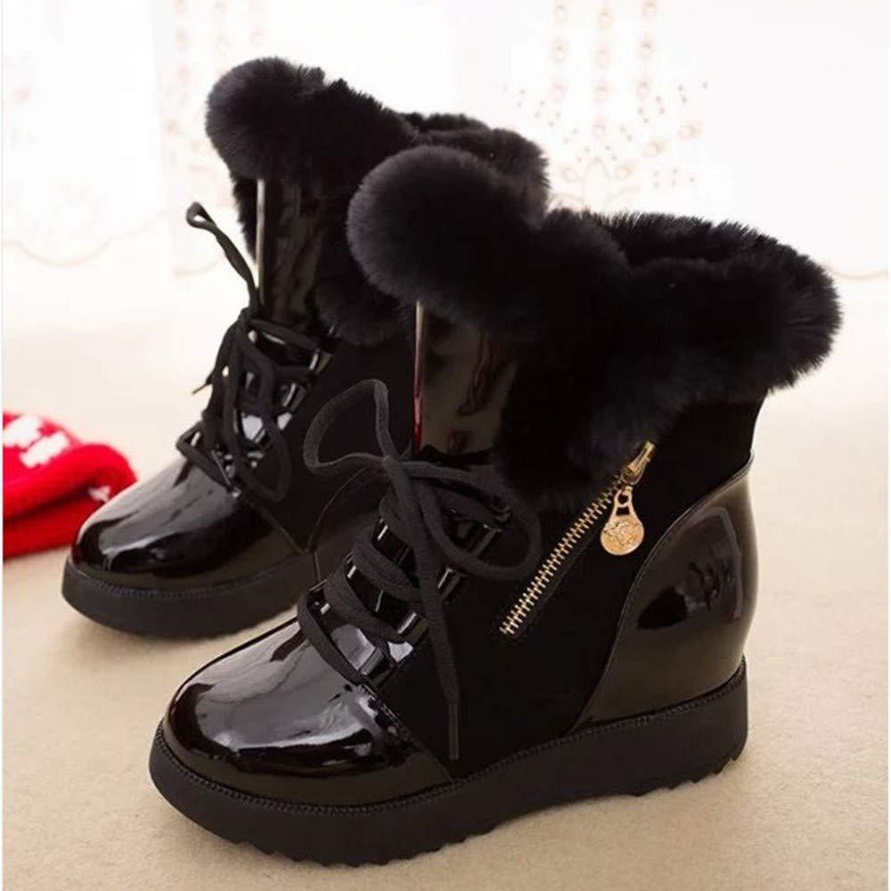 XPFXPFX Sport Freizeit Modetrend im Freien Mode Frauen Weibliche Halbe Stiefel Winter Kurze Schneeschuhe Weibliche Frauen Warme Plattform Schuhe Frau ad5f5e