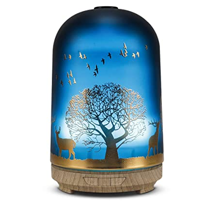 Amazon.com: Difusor de aceites esenciales de aromaterapia ...