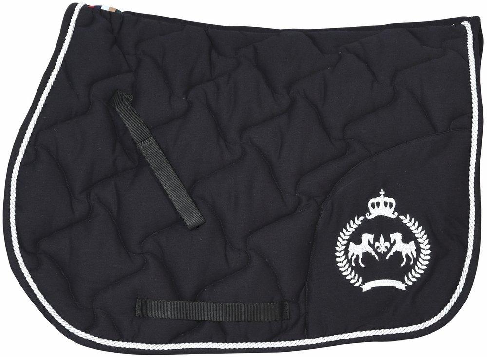 Black STD Black STD Equine Couture Beatta All Purpose Saddle Pad