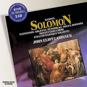 Solomon, oratorio, HWV 67