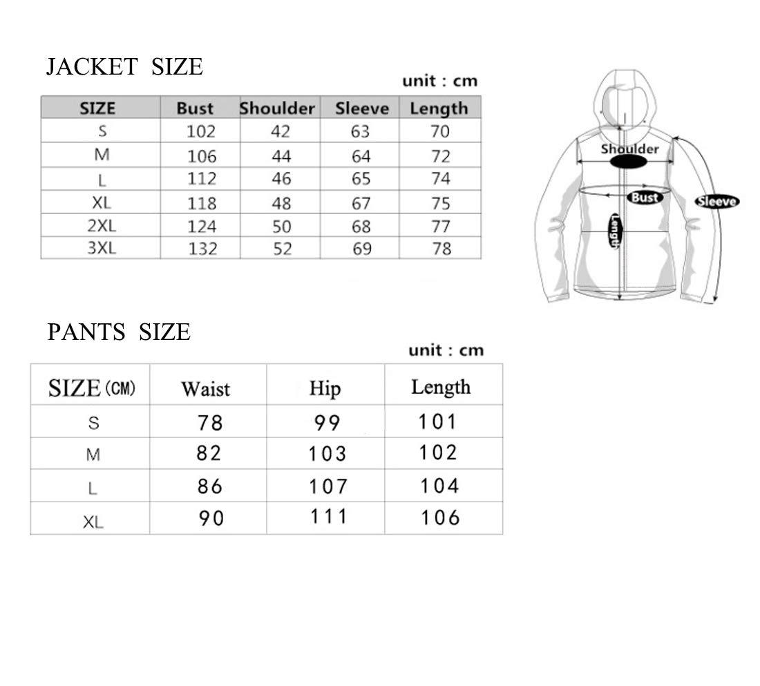 Olprkgdg Tuta da da da Sci da Donna Impermeabile Antivento e Pantaloni Antivento per Escursioni all'Aria Aperta (Coloree   bianca, Dimensione   XL)B07MB8YBK9S bianca | Design moderno  | Fornitura sufficiente  | Il materiale di altissima qualità  | Cheap  9fe137