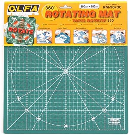 OLFA Rotating Cutting Mat 30x30cm