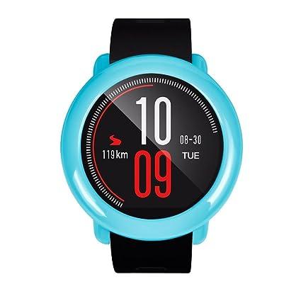 Para Xiaomi huami amazfit reloj inteligente elegante PC Carcasa proteger Carcasa de Repuesto, Y56 moda