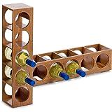 Zeller 13565 - Botellero de bambú (13,5 x 12,5 x 53 cm)