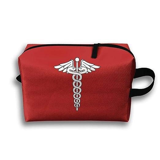 Amazon Com Storage Bag Travel Pouch Caduceus Staff Hermes Purse