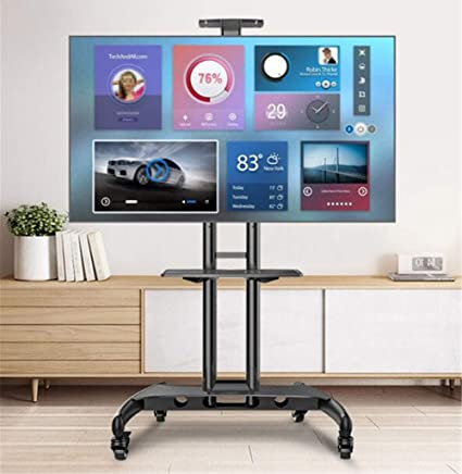 Amazon Com Exing Movable Tv Stand 32 65 Lcd Tv Mobile