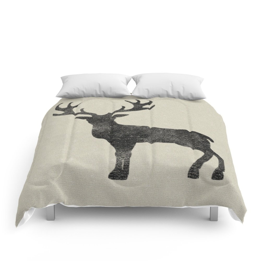 Society6 Grainsack With Stag Pillow Comforters King: 104'' x 88'' by Society6