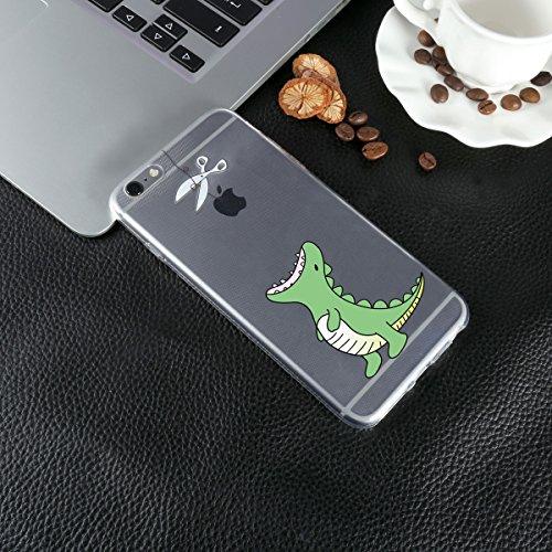 """iPhone 6s Plus / 6 Plus Hülle Silikon , ivencase Transparent Handyhülle Schutzhülle TPU Clear Case Backcover Bumper Slimcase Etui Tasche für iPhone 6s Plus / 6 Plus 5.5"""""""