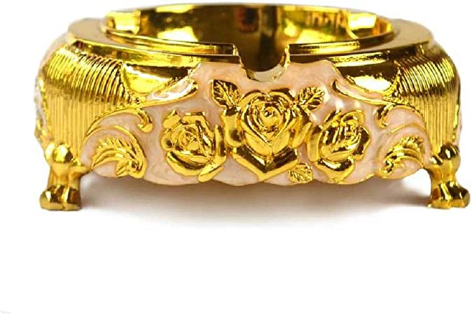 Golden Rose Ashtray Household and Hotel Supplies