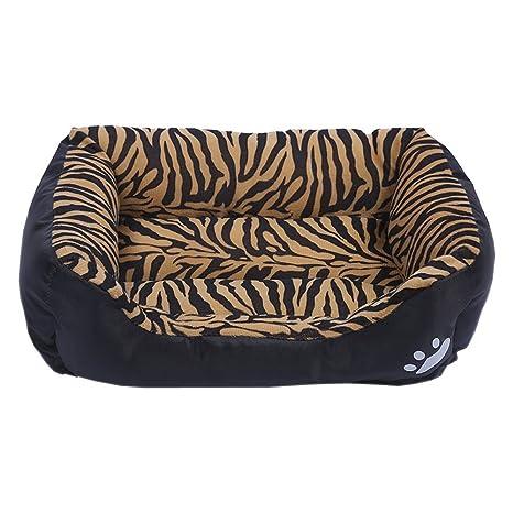 Xinjiener Ultra Suave y cálida Cama de Mascota Almohadilla de Perro Almohadilla de Dormir y Lavable