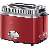 Russel Hobbs Retro 2 Dilim Kapasiteli Ekmek Kızartma Makinesi, Paslanmaz Çelik