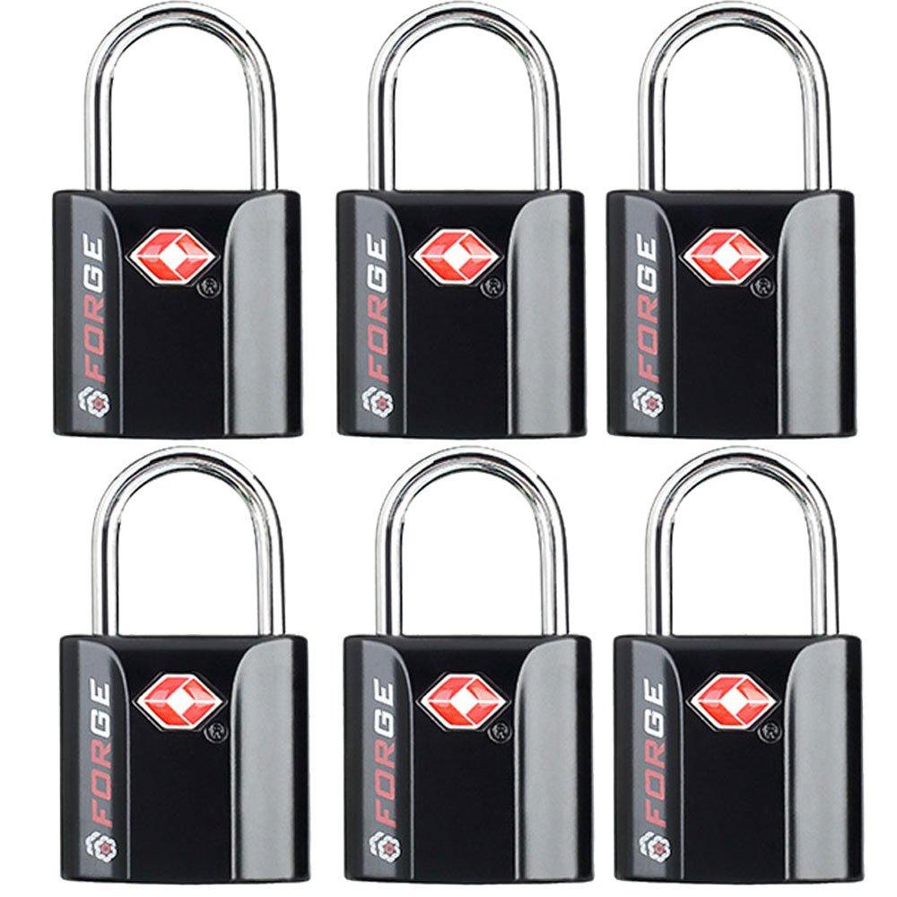 TSA Approved Luggage Locks, Ultra-Secure Dimple Key Travel Locks with Zinc Alloy Body 10458028