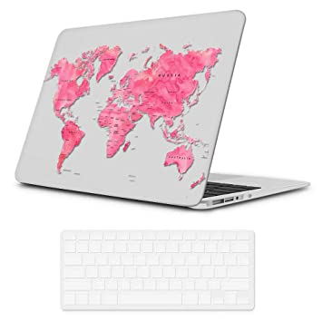 Amazon.com: iLeadon - Carcasa rígida para MacBook Air de 13 ...