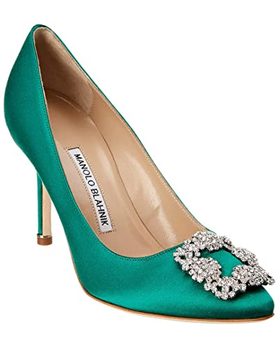 1da293b320e Image Unavailable. Image not available for. Color  Manolo Blahnik Hangisi  ...