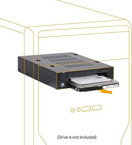 Icy Dock flexiDOCK MB521SP-B - una bahía SAS/SATA HDD/SSD 2.5 ...