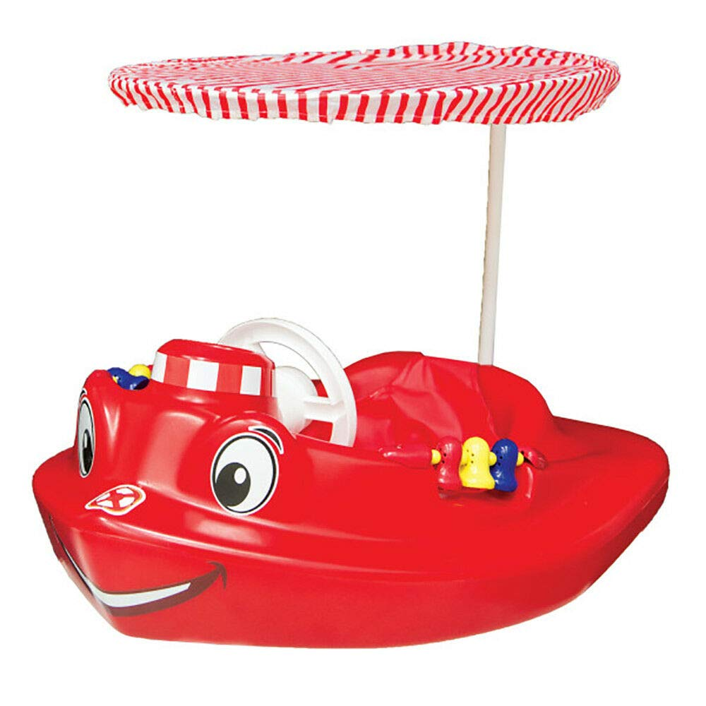 MRT SUPPLY Plastic Baby Swimming Pool Tug Boat Float with Toys and Canopy (2 Pack) with Ebook by MRT SUPPLY (Image #4)