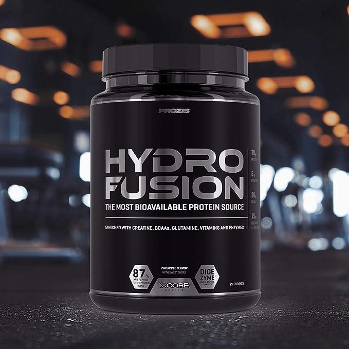 XCore Hydro Fusion Proteína de Suero de Leche en Polvo 900g ...