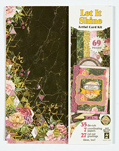 Artful Card Kits by Hot Off The Press   Coordinated Collections for Scrapbooking, Card Making and Gifts - Inspiration at Your Finger Tips (Let It Shine) ()
