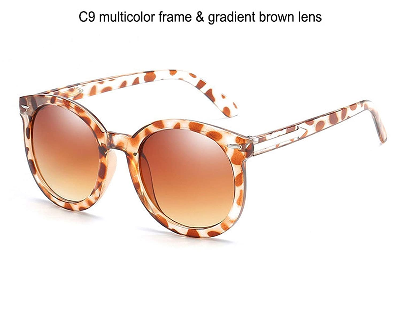Amazon.com: Bnialaed Round Mirror Lens Sunglasses Women ...
